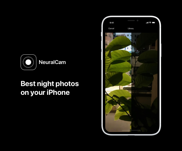 NeuralCam promo image | Halcyon Mobile