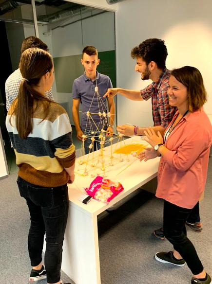 Team Building activity internship 2019