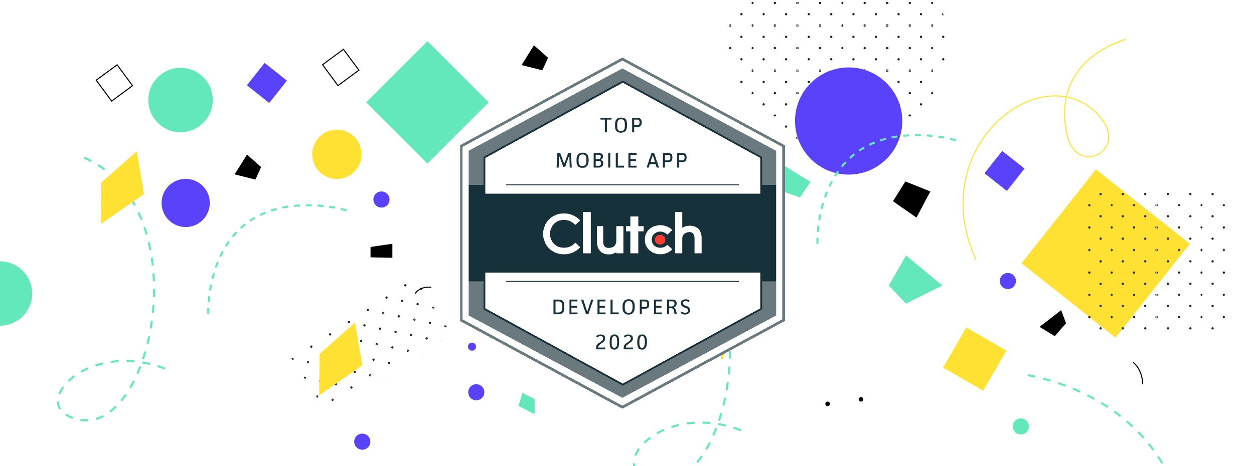 Clutch's Top Mobile Developers 2020 badge